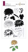Build-A-Flower: Semi-Double Chrysanthemum Layering Stamp & Die Set - Altenew