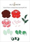 Craft-A-Flower: Antique Rose Layering Die Set - Altenew