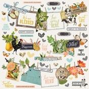 Simple Vintage Farmhouse Garden Banner Sticker - Simple Stories