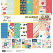 Sunkissed 12x12 Collection Kit - Simple Stories