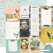 Journal Elements Paper - Simple Vintage Farmhouse Garden - Simple Stories