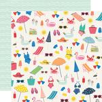 Make A Splash Paper - Sunkissed - Simple Stories - PRE ORDER