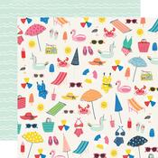 Make A Splash Paper - Sunkissed - Simple Stories