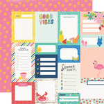 Journal Elements Paper - Sunkissed - Simple Stories - PRE ORDER