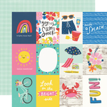 3x4 Elements Paper - Sunkissed - Simple Stories - PRE ORDER