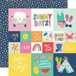 2x2/4x4 Elements Paper - Sunkissed - Simple Stories - PRE ORDER