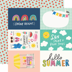 4x6 Elements Paper - Sunkissed - Simple Stories - PRE ORDER