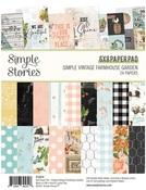 Simple Vintage Farmhouse Garden 6x8 Paper Pad - Simple Stories