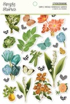 Simple Vintage Farmhouse Garden Sticker Book - Simple Stories