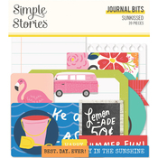 Sunkissed Journal Bits - Simple Stories