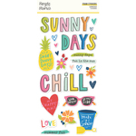 Sunkissed Foam Stickers - Simple Stories - PRE ORDER
