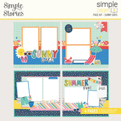 Sunny Days Page Kit - Sunkissed - Simple Stories - PRE ORDER
