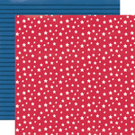 Stars & Stripes Paper - Stars, Stripes + Sparklers - Simple Stories - PRE ORDER