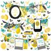 Simple Vintage Lemon Twist Banner Sticker - Simple Stories