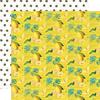 Squeeze The Day Paper - Simple Vintage Lemon Twist - Simple Stories