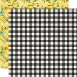 So Sweet Paper - Simple Vintage Lemon Twist - Simple Stories - PRE ORDER