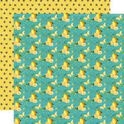 Bee Happy Paper - Simple Vintage Lemon Twist - Simple Stories