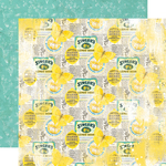 Easy Peasy Paper - Simple Vintage Lemon Twist - Simple Stories - PRE ORDER