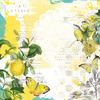 Sunshine & Lemonade Paper - Simple Vintage Lemon Twist - Simple Stories