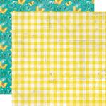 Fresh Squeezed Paper - Simple Vintage Lemon Twist - Simple Stories - PRE ORDER