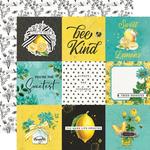4x4 Elements Paper - Simple Vintage Lemon Twist - Simple Stories