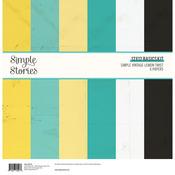 Simple Vintage Lemon Twist 12x12 Basics Kit - Simple Stories