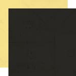 Ebony-Lemonade Paper - Simple Vintage Lemon Twist - Simple Stories