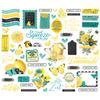Simple Vintage Lemon Twist Bits & Pieces - Simple Stories