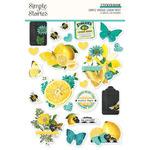 Simple Vintage Lemon Twist Sticker Book - Simple Stories