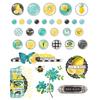 Simple Vintage Lemon Twist Decorative Brads - Simple Stories