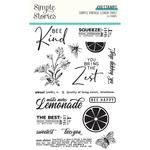 Simple Vintage Lemon Twist Stamps - Simple Stories