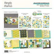 Simple Vintage Lemon Twist Collector's Essential Kit - Simple Stories