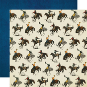 Let's Ride Paper - Howdy! - Simple Stories - PRE ORDER