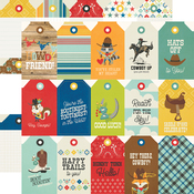 Tags Paper - Howdy! - Simple Stories - PRE ORDER
