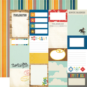 Journal Elements Paper - Howdy! - Simple Stories - PRE ORDER