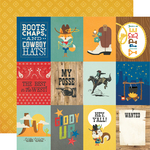 3x4 Elements Paper - Howdy! - Simple Stories