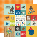 2x2/4x4 Elements Paper - Howdy! - Simple Stories