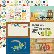 4x6 Elements Paper - Howdy! - Simple Stories - PRE ORDER