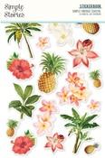Simple Vintage Coastal Sticker Book - Simple Stories