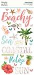 Simple Vintage Coastal Foam Stickers - Simple Stories - PRE ORDER