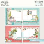 Simple Pages Page Kit Beachy - Simple Stories - PRE ORDER