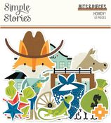 Howdy! Bits & Pieces - Simple Stories - PRE ORDER