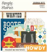 Howdy! Journal Bits - Simple Stories - PRE ORDER