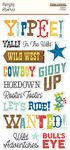 Howdy! Foam Stickers - Simple Stories - PRE ORDER