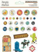Howdy! Decorative Brads - Simple Stories - PRE ORDER