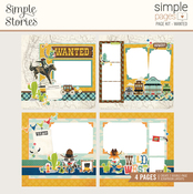 Wanted Page Kit - Howdy! - Simple Stories - PRE ORDER