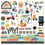 Family Fun Combo Sticker - Simple Stories