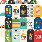 Tags Paper - Family Fun - Simple Stories