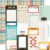 Journal Elements Paper - Family Fun - Simple Stories - PRE ORDER