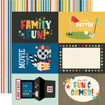 4x6 Elements Paper - Family Fun - Simple Stories - PRE ORDER